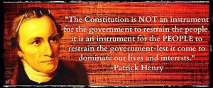 Patrick Henry on the constitution
