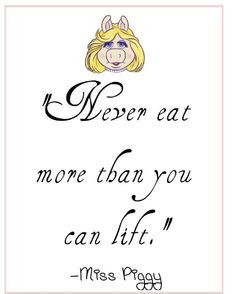 Bedroom Wall Quotes Miss Piggy Beauty Quote Vinyl Decal