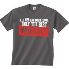 Show off your wrestling pride with out new wrestling t-shirt designs ...