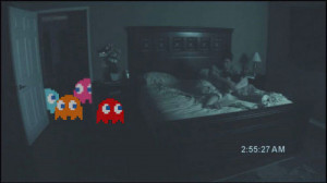 Funny photos funny Paranormal Activity Pacman ghosts