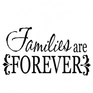 Families are Forever--Poppyseedprojects.com