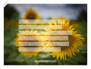 Life is a dream realize it quote