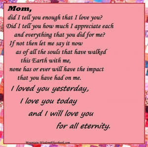 Quotes Lol, Sayings Quotes, Express Mom, Mother, Menu, Love You Mom ...