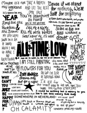 ... include: all time low, rian dawson, bands, jack barakat and Lyrics