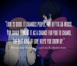 Love Anime Quotes | Latest Comics Episode