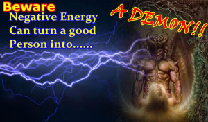 Negative Energy in action. Some negative influence can bring the worst ...