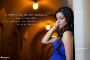 Superwoman's great quote