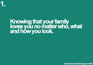 Love Family Quotes And Sayings