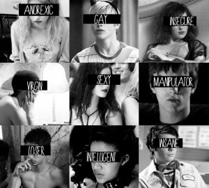 anorexic, beautiful, black and white, cassie ainsworth, cast, chris ...