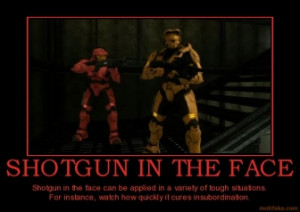 TAGS: shotgun face grif sarge red vs blue