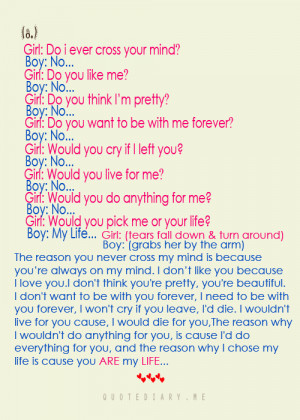 quotediaryofficial:Boy & Girl Conversation (8)*weeehhhh… :)