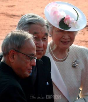 former Japanese Prime Minister Yoshiro Mori IE photo Renuka Puri