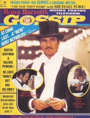 3df53e5f96 burt reynolds gossip cover Burt Reynolds Quotes