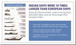 Unfortunately, the British destroyed Indian ship building industry to ...