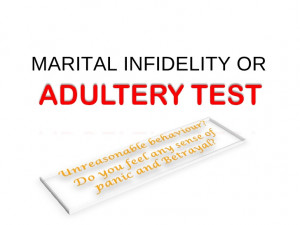 ADULTERY TEST (MARITAL INFIDELITY TEST)