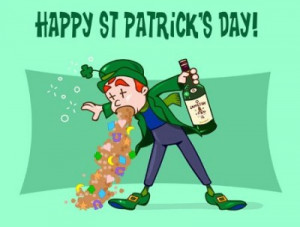 It's a bit early, but what the hell - Happy St. Patrick's Day!