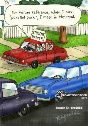 learner driver cartoons, learner driver cartoon, learner driver ...
