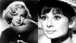 Classic Beauty Face Off: Audrey Hepburn v Marilyn Monroe
