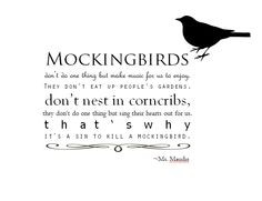 ... mockingbird.'
