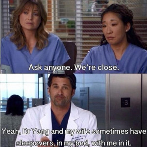 ... Quotes Derek, Grey Anatomy Quotes Yang, Grey Anatomy Funny Quotes