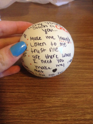 Diy customized lacrosse, baseball, or football for your boyfriend who ...