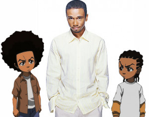 ... Aaron McGruder, who confirmed he'd have no part of the show's
