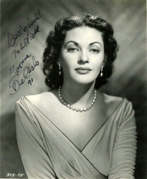 Yvonne De Carlo has been added to these lists