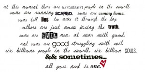 One Tree Hill Quotes Peyton Quote