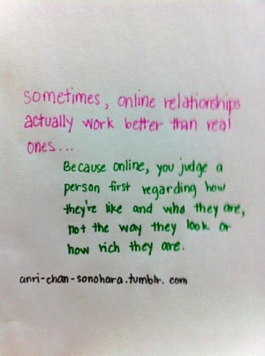 online relationship quotes