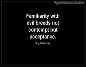 Quotes and Saying About Evil