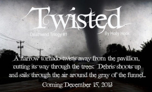 Cover Reveal: Twisted by Holly Hook