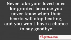 Quotes About Saying Goodbye To A Loved One Quotes about saying goodbye ...
