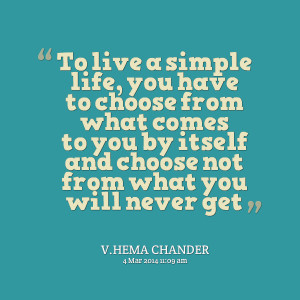 Simple Life Quotes For Facebook Quotes picture: to live a