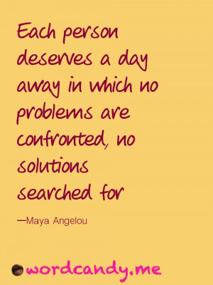 Productivity Quote: Mental Health Day