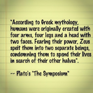 Greek Mythology -Plato