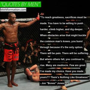 Jon Bones Jones Quotes