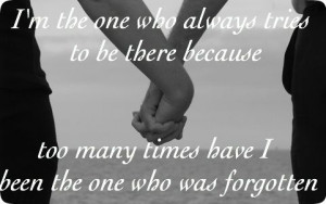 Quote about being there for someone