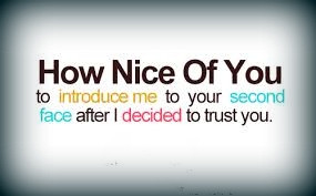 rainbow attitude quotes face nice quotes trust no comments