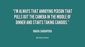 always that annoying person that pulls out the camera in the ...