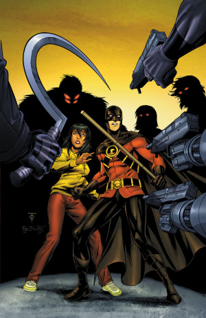 Tim Drake Red Robin #8