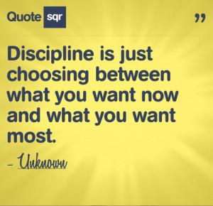 ... quotes #discipline quotes #wants #needs #QuoteSqr #picture quote