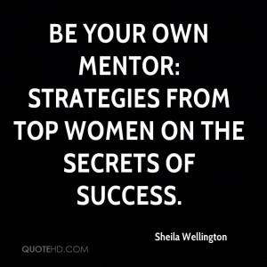 Sheila Wellington Quotes