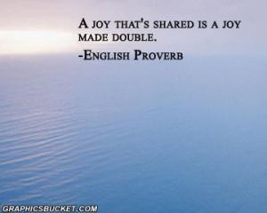 Joy quotes, joyful quotes, peace quotes, quotes on joy, joy division ...