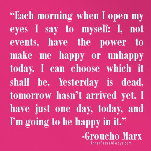 Quotes for Friday about choosing to be happy