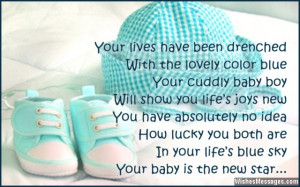 Congratulations for baby boy: Poems for newborn baby boy