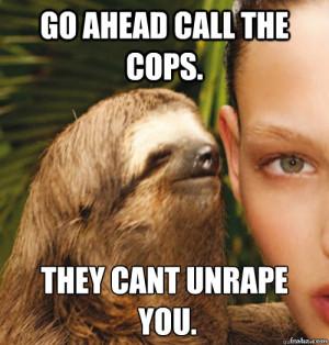 Rape Sloth Meme