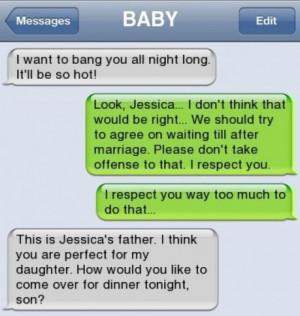 Strange Text Messages 1-5