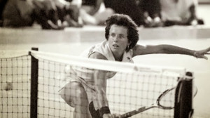 Regi James Erskine , med Billie Jean King, Bobby Riggs m fl