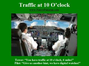 Aviation Humour: Traffic at 10 O'Clock - Funny Aviation Jokes, Pilot ...