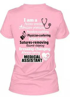assistant more medical assistant shirts certified medical assistant ...